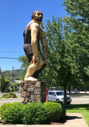 Grants Pass Oregon Caveman