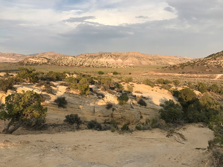 Views While Hiking to Moonshine Arch in Vernal