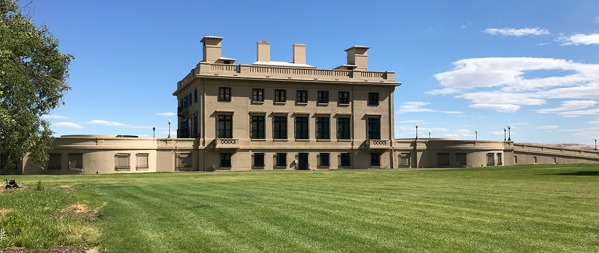 Maryhill Museum Of Art Overlooking The Columbia River Gorge