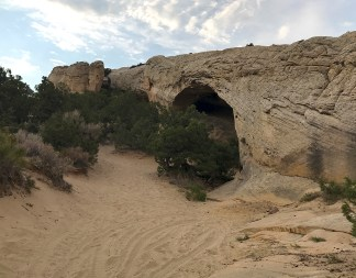 Moonshine Arch In The Evening