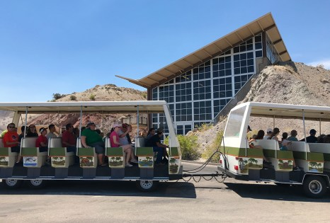 Quarry Exhibit Halls Free Shuttle