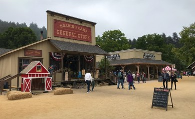 Roaring Camp General Store In The Santa Cruz Mountains