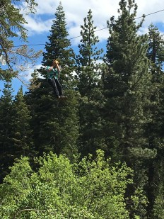Steve Bourn Ziplining
