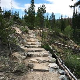 Adams Falls Trail Stone Staircase