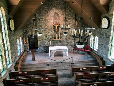 Altar At The Chapel On The Rock