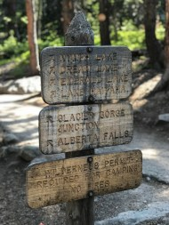Bear Lake Trailhead Sign