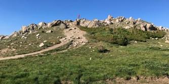 Carter Bourn Climbing Rocks For A Better View