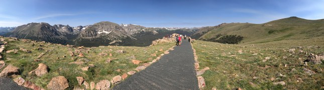 Forest Canyon Overlook in Rocky Mountain National Park