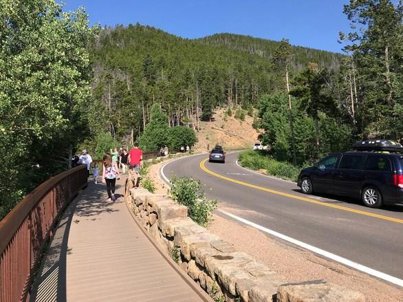 Many Parks Curve Wooden Boardwalk Overlook