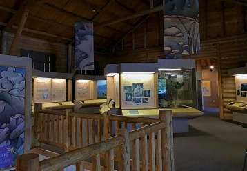 Moraine Park Museum in Rocky Mountain National Park