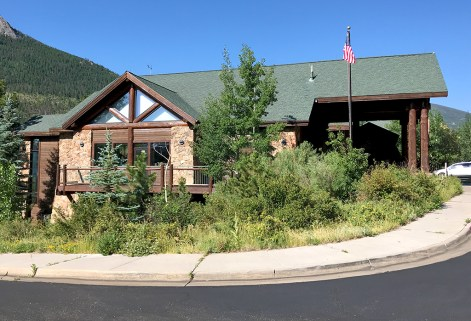 Fall River Visitor Center in Rocky Mountain National Park