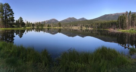 View of Sprague Lake