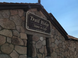 Huge Trail Ridge Store And Cafe At The Alpine Visitor Center