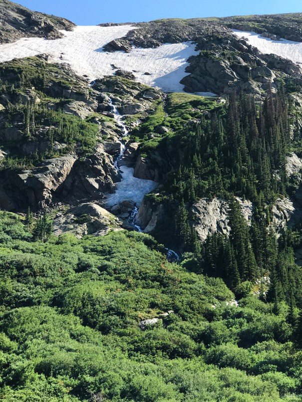 Waterfall along Old Fall River Road
