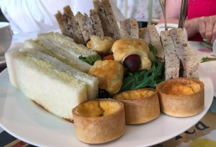 Afternoon Tea Sandwiches and Savories
