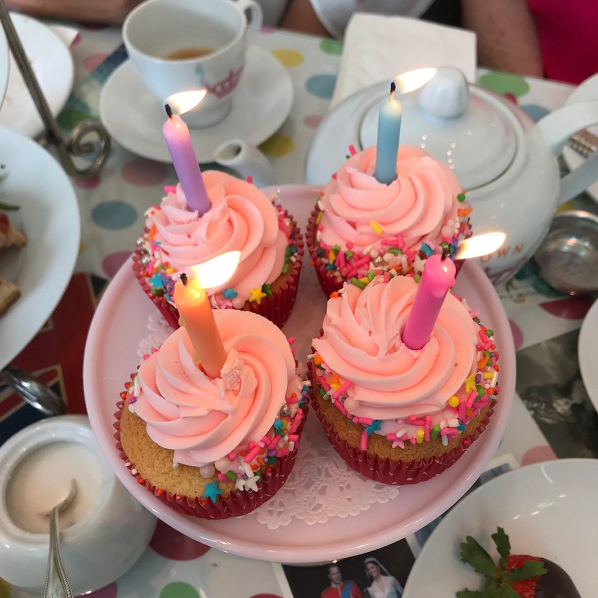 Birthday Cupcakes At Crown & Crumpet