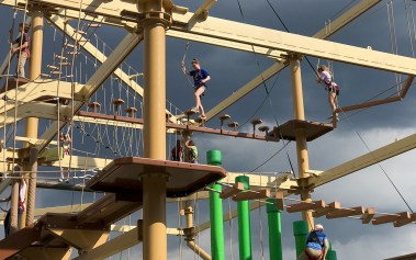 Cave of the Winds Adventure Park Ropes Course
