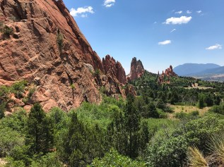 Garden Of The Gods Red Rocks