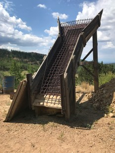 Mining Remnants at the Mollie Kathleen Gold Mine