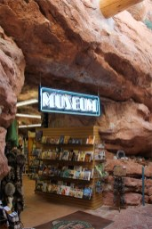 Rock Walls Inside the Pueblo Gift SHop at the Manitou Cliff Dwellings