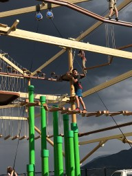 Ropes Course At Cave Of The Winds Adventure Park