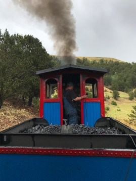 Ride the train in Cripple Creek