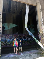 Hike Through Abandoned Trail Tunnels Covered In Graffiti