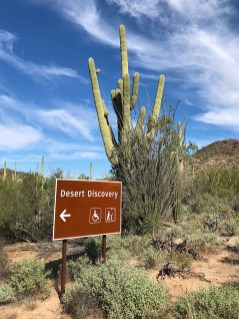 Desert Discovery Trail Signage