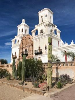 Mission San Xavier Exterior