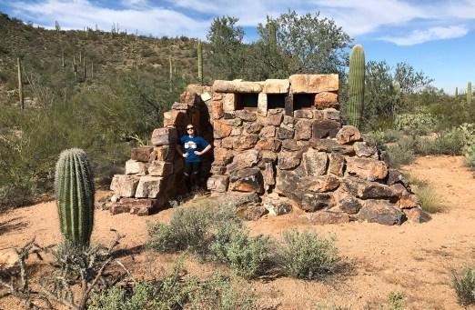 Abandoned National Park Restroom Structure