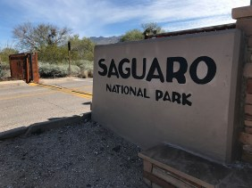 Saguaro National Park Entrance Gate