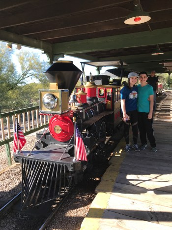 Train Rides at Old Tucson Theme Park