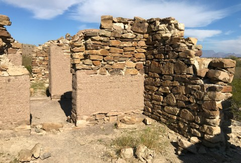 Adobe and Stone Building and Ruins