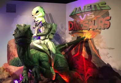 Aliens vs Dinosaurs Travel Stop Museum