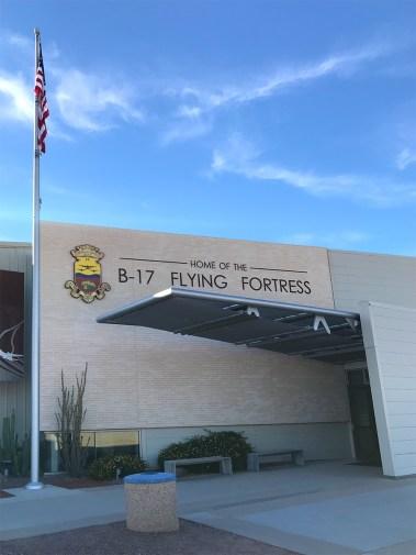 B-17 Flying Fortress Hangar