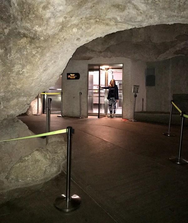 Carlsbad Caverns Elevators