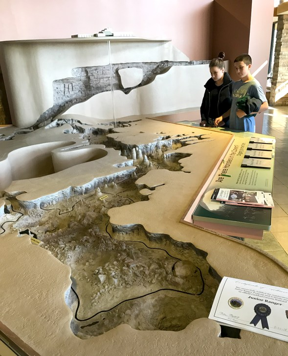 Carlsbad Caverns Topographic Map