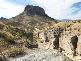 Cerro Castellan at Big Bend National Park