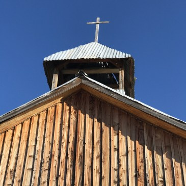Church Steeple in Terlingua
