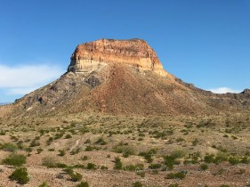Colorful Mountains in Big Bend Texas