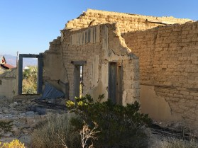 Ghost Town Buildings in Terlingua