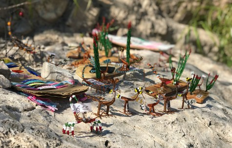 Mexican Crafts for sale along The Boquillas Canyon Trail