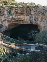 Natural Entrance to the Caves at Carlsbad Caverns