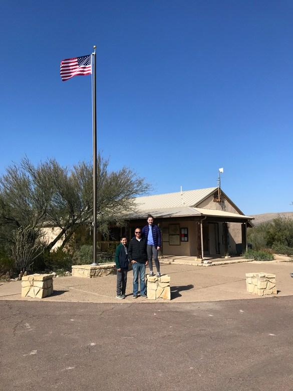 Rio Grande Village Visitor Center in Big Bend