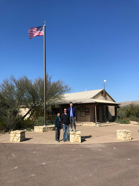 Rio Grande Village Visitor Center in Big Bend