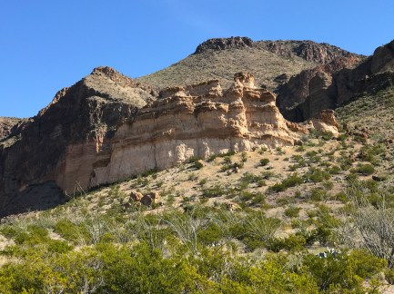 Rock Formations in Big Bend National Park