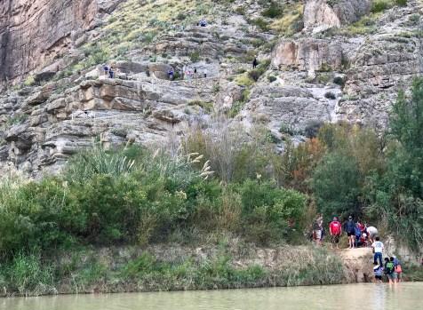 Santa Elena Canyon Trail Switchbacks