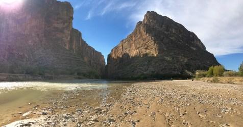 Santa Elena Canyon and Terlingua Creek