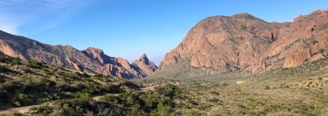 View of the Chisos Basin