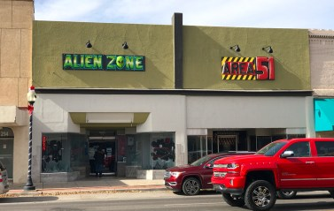 Alien Zone and the Area 51 Museum